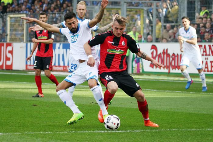 1. BL: 16-17 - 24. Spieltag -  SC Freiburg vs. TSG Hoffenheim